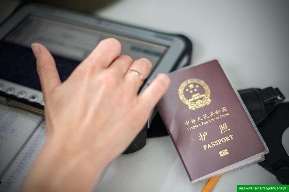 Chińczyk Wyłudził Wizę Aktualności Nadwiślański Oddział Straży